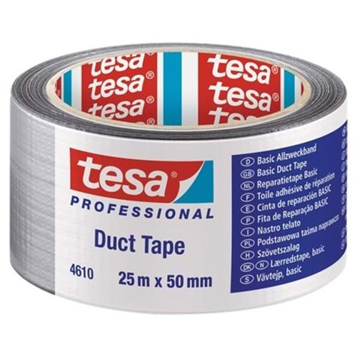 TESA | BASIC DUCT TAPE 25x50 GREY