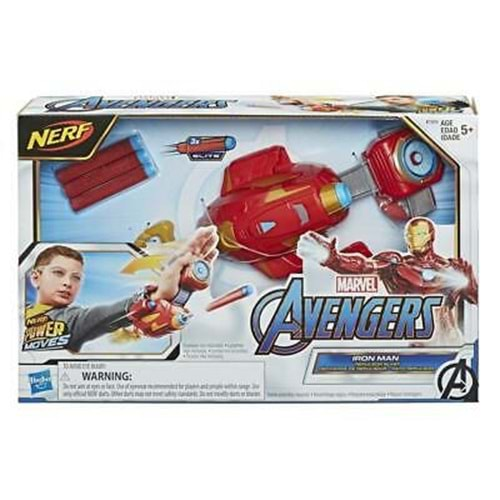 HASBRO | AVENGERS IRON MAN POWER MOVES E7376